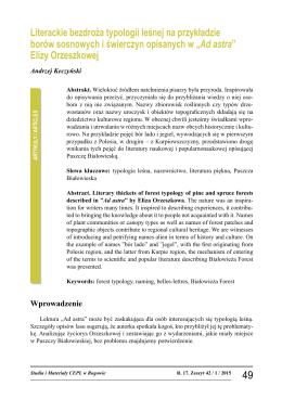 pobierz pdf - Centrum Edukacji Przyrodniczo