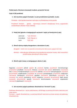 Część A - Dokumenty
