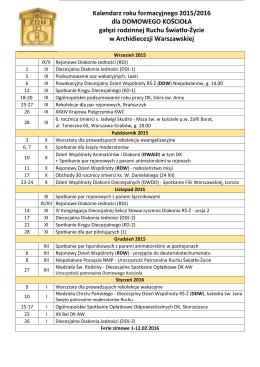 Kalendarz 2015/2016 w formacie pdf