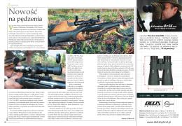 Recenzja w magazynie Łowiec Polski sierpień 2015