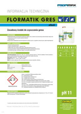 FLORMATIK GRES alkali