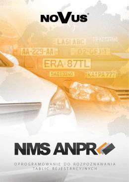 nms anpr oprogramowanie do rozpoznawania tablic
