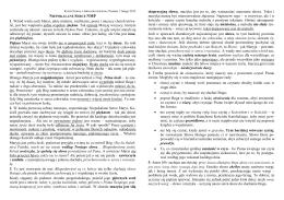 Kurs Chorału Gregoriańskiego, Poznań, 7