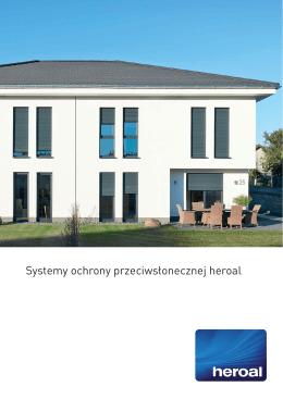 Systemy ochrony przeciwsłonecznej heroal