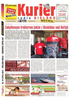 Zabytkowym traktorem jedzie z Beskidów nad Bałtyk