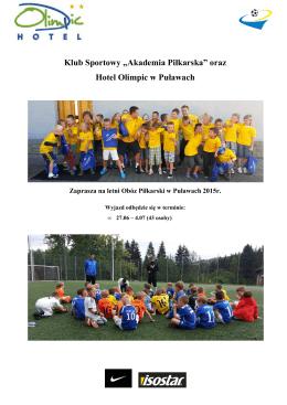 Obóz Piłkarski Puławy