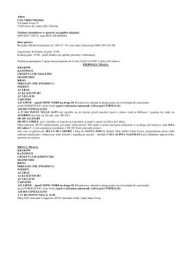 Trasa dojazdu do Civetty PDF