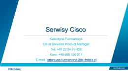 Serwisy Cisco