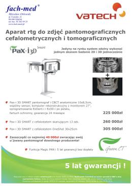 Cennik Pax-i 3D SMART - Fach-med