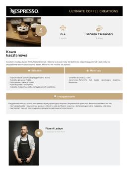 Kawa kasztanowa - Najlepsze kawowe kreacje