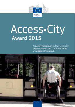 Access City - Award 2015 - Przykłady najlepszych praktyk