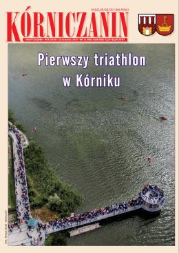 Pierwszy triathlon w Kórniku