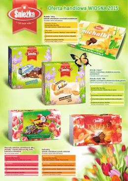 Michałki ® 300 g Cukierki czekoladowe z - Śnieżka
