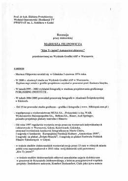 Recenzja_II - Wydział Grafiki