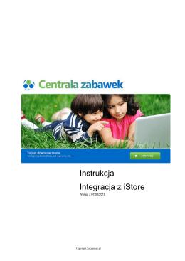 Instrukcja Integracja z iStore