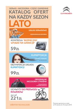 katalog ofert - Citroën Polska