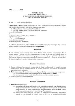 Wzór porozumienia dla zarządców i właścicieli nieruchomości