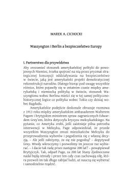 przeczytaj jeden z tekstów z tomu autorstwa Marka Cichockiego