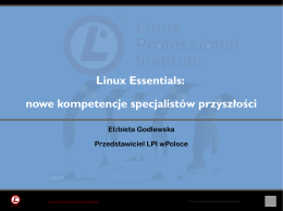 Linux Essentials: nowe kompetencje specjalistów przyszłości