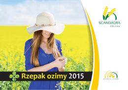 Rzepak ozimy - SCANDAGRA Polska