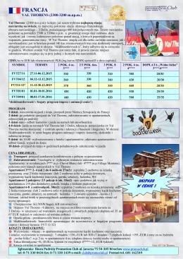 CENA OD 310 EUR/OS