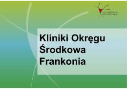 Kliniki Okręgu Środkowa Frankonia - Bezirkskliniken-mfr