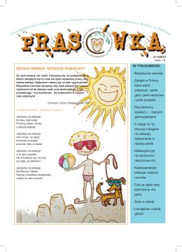 Prasówka nr 5 - Polska Akademia Wiedzy