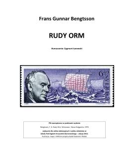 Bengtsson, Gunnar Frans - Rudy Orm