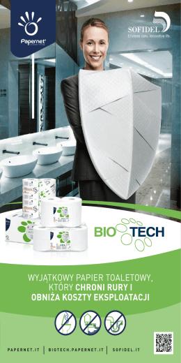 wyjątkowy papier toaletowy, który chroni rury i obniża