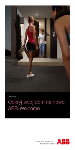 Odkryj swój dom na nowo ABB-Welcome - Busch