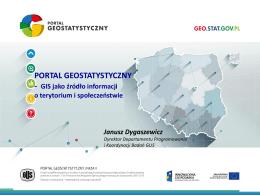 Portal Geostatystyczny