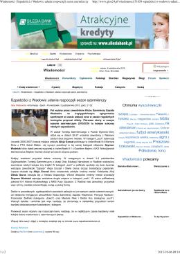 Wiadomości | Szpadziści z Wadowic udanie rozpoczęli sezon