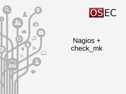 Nagios + check_mk