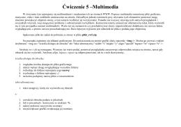 Ćw5. Multimedia