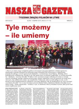 NG30-31 - Związek Polaków na Litwie