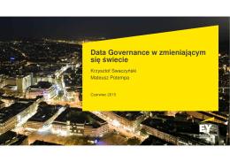 Data Governance w zmieniającym się świecie