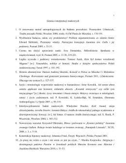 Interpretacje i ich legitymizacja dr hab. Pawła Żmudzkiego
