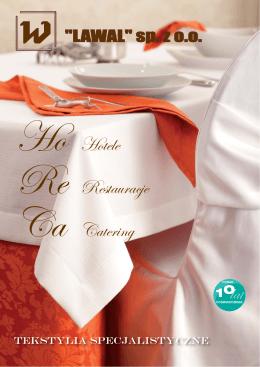 katalog horeca 2015 - Tekstylia hotelowe Lawal