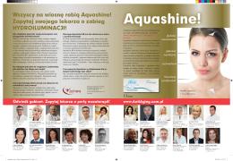 Aquashine! - Dr Sirek | MedCosmetic | Klinika Chirurgii Plastycznej