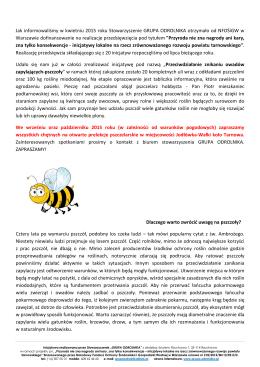 Pobierz materiał informacyjny - Stowarzyszenie Grupa Odrolnika