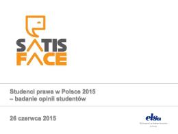 Studenci Prawa w Polsce 2015