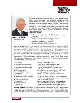 dr Jerzy Kołodziej
