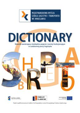Słownik pojęć logistycznych