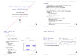 Podstawowe pojęcia związane z tworzeniem aplikacji