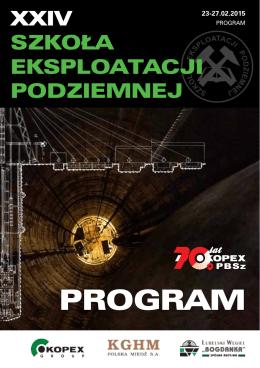 do pobrania w pliku pdf - Szkoła Eksploatacji Podziemnej