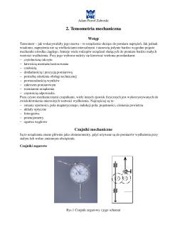 2. Tensometria mechaniczna