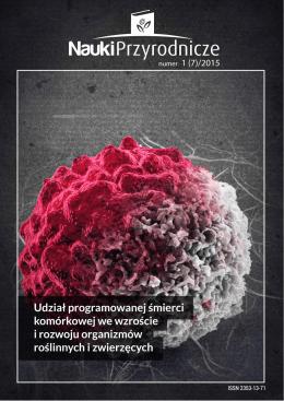 Untitled - Nauki Przyrodnicze - Stowarzyszenie Studentów Nauk