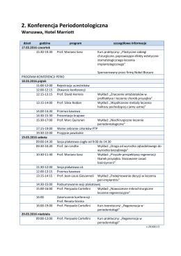Program – PDF