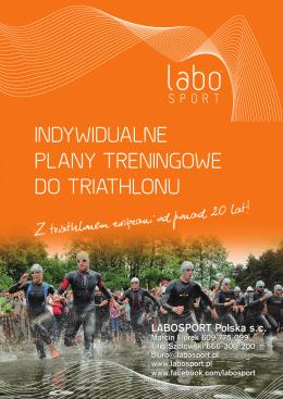 indywidualne plany treningowe do triathlonu