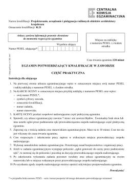 R.21 - 2015 - kwalifikacje w zawodzie